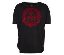 Anglomania New Baggy T-Shirt University Of Peace Print Black