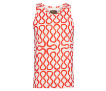Red/White Squiggle Vest