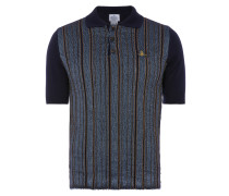 Spring Polo Shirt Navy Stripes