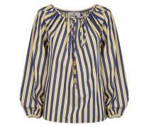 Gipsy Shirt Blue/Yellow Stripes