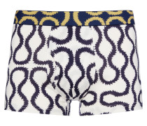 Blue Squiggle Boxer Shorts