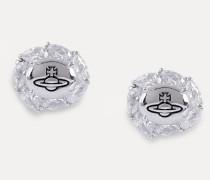 Charlene Earrings Silver-Tone