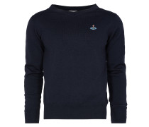Shallow Neck Jumper Navy