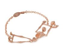 Anglomania Skeleton Bracelet in Rose Gold