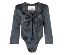 Corset Jacket Black Silk