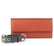 Alex Long Wallet With Cuff 321533 in Orange