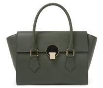 Opio Saffiano Handbag 131211 in Green