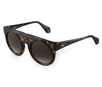 Tortoiseshell Bi-Layer Sunglasses VW937S1BLS 1-