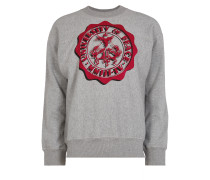 Anglomania Square Sweater University Of Peace Grey Melange
