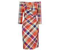 Harlequin Short Amber Dress