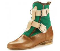 Seditionaries Boots in Tan & Green