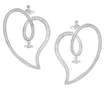 Sosanna Earrings Silver Tone