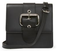 Small Alex Leather Handbag 131222 in Black