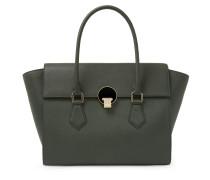 Opio Saffiano Handbag 131210 in Green