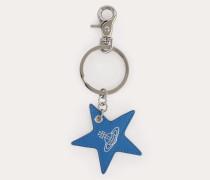 Chelsea Star Keyring Blue