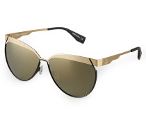Gold Frame Sunglasses VW958S1GGG One