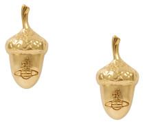 Gold Konstantina Stud Earrings