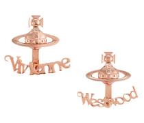 Toni Pink Gold Earrings