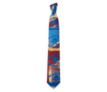 Too Fast To Live Tie Red/Blue One