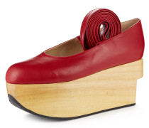 Rocking Horse Red Ballerina Shoes