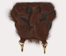 Lion Lion Coin Case Brown