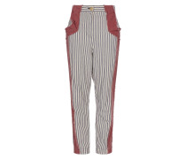 Anglomania Ticking Melo Trousers Navy/Cream