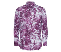 Purple Deer Scarf Shirt