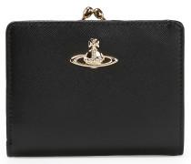Opio Saffiano Wallet With Coin Pocket 321519 Black