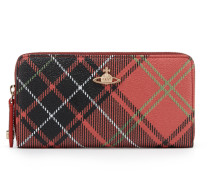 Derby Zip Round Wallet - Charlotte -Pink/Black/White