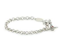 Silver New Petite Orb Bracelet