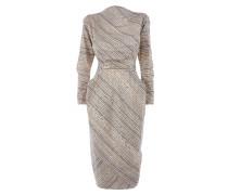 Wilma Point Dress Isabel Indigo
