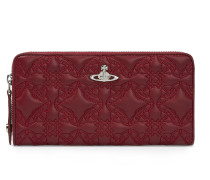 Coventry Zip Round Wallet 321530 Bordeaux