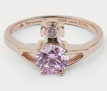 Reina Petite Ring Pink Gold
