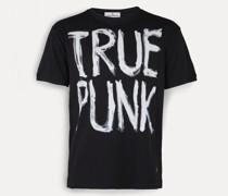Man Punk T-Shirt Black
