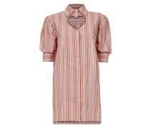 Anglomania Striped Heart Dress Orange