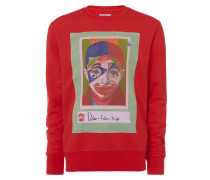 Dylan Roundneck Sweater Red