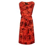 Flame Twisted Dress