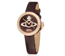 Purple/Gold Queensgate Watch