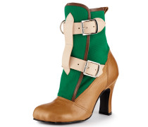 Bondage Boots Green/Tan