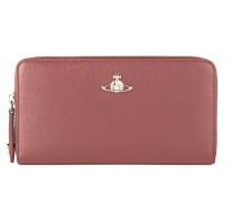 Saffiano Zip Round Wallet 51050001 Pink