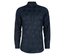 Two Button Krall Shirt Navy Sun and Moon