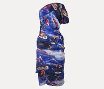 Julia Dress Sea Monster Print