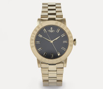 Warwick Watch Black/Gold