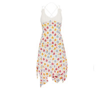 Vivienne Westwood Aegean Dress In White, Pink & Yellow
