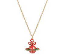Vivienne Westwood Christmas Wreath Necklace