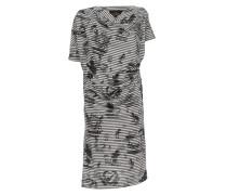 Anglomania Grateful Print Drape Dress Grey