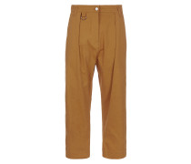 Anglomania Cropped Dietrich Trousers Orange