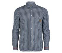 Anglomania Classic Shirt Blue Stripes