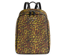 Anglomania Leopard Backpack 190038 Yellow