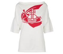Anglomania Middling Long T-Shirt Arm & Cutlass Print White